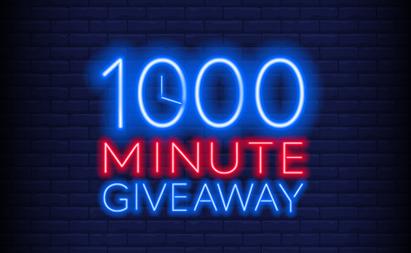 1000 Free Minutes